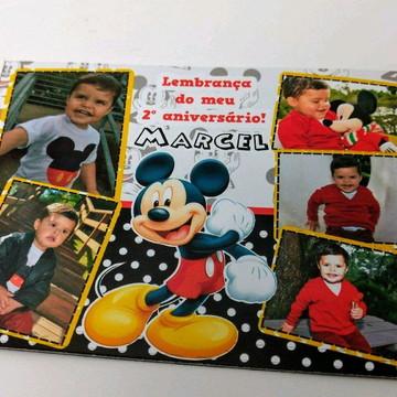 Lembrancinha foto ímã Mickey