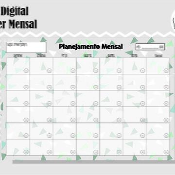 PLANNER MENSAL 21 - ARTE DIGITAL