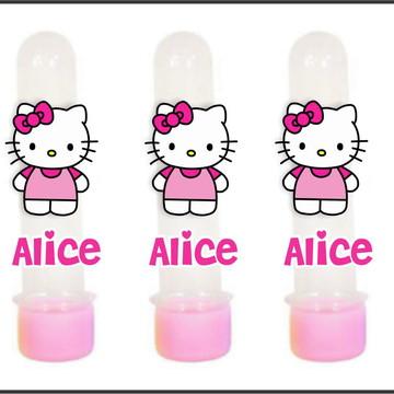 Tubete com Aplique 3D - Hello Kitty