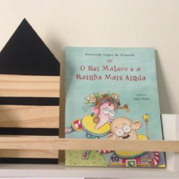 Prateleira decorativa para quarto de criança