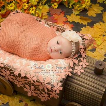 Faixa para bebe recem nascido