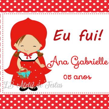 tag impressa   chapeuzinho vermelho   personalizada