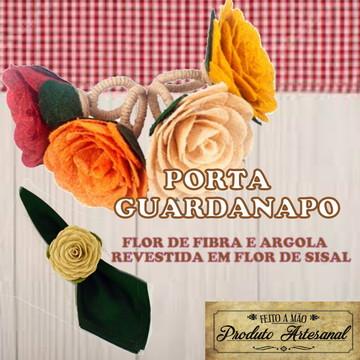Porta Guardanapos Confeccionado com Papel de Fibras