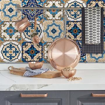 Adesivo Azulejo Cozinha 15x15 36un Braga