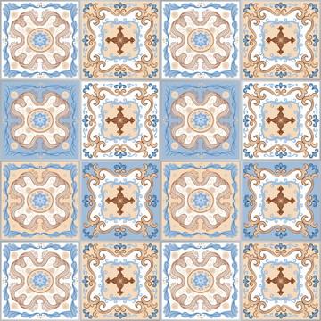 Adesivo Azulejo Cozinha 10x10 Santa Isabel 50un