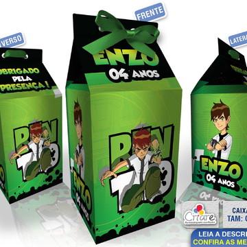 Caixa Milk Grande - Ben 10