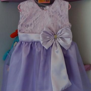 Vestido Infantil Princesa Sofia