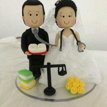 Topo do bolo casamento topo do bolo personalizado medica