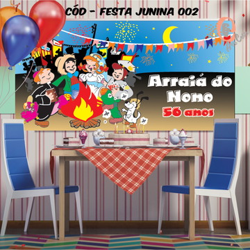Painel festa decoração festa junina
