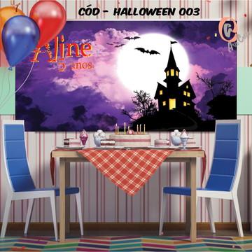 Painel festa decoração halloween