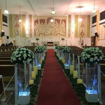 Cerimonia de Casamento em Igreja - Locação