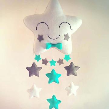 Móbile Estrelas Bandeirola