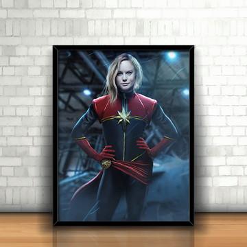 Quadro Capitã Marvel