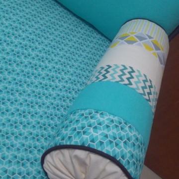 Kit cama auxiliar 9 peças ( personalizado)