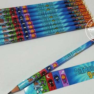 Lápis Personalizado Jovens Titãs