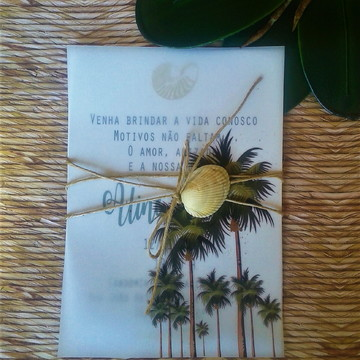Convite coqueiro