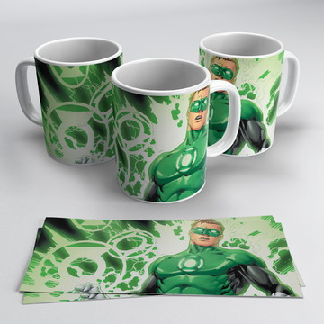 Caneca Lanterna Verde