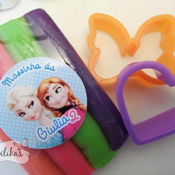 Lembrancinha Frozen - Kit massinha