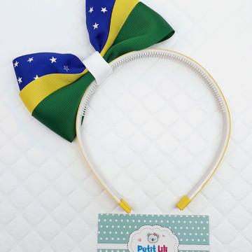 Tiara Laço G 3 Cores Brasil