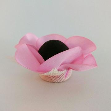 Forminha de doce - Rosa bebê