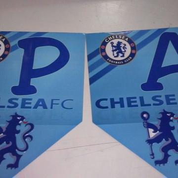 Faixa Parabens Chelsea mais nome