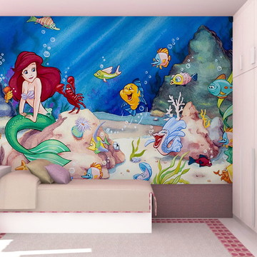 Papel de Parede Feminino Ariel 0008 - Papel de Parede 3D