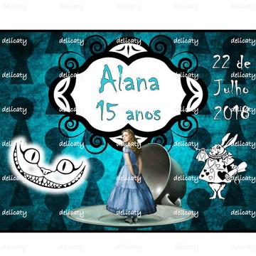 Arte Digital - Aniversario Alice