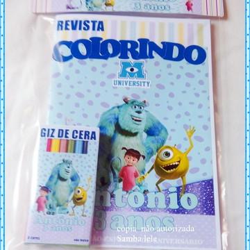 kit Colorir Monstros S.A