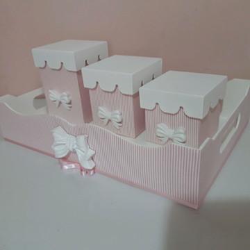 kit higiene com laço
