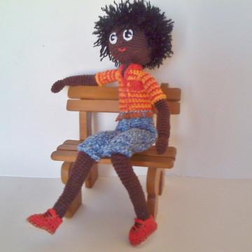 Amigurumi - boneco em crochê *