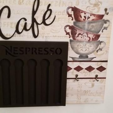 Porta Capsula Nespresso ou Dolce Gusto