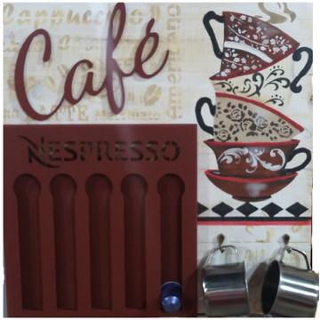 Porta Cápsula Nespresso ou Dolce Gusto