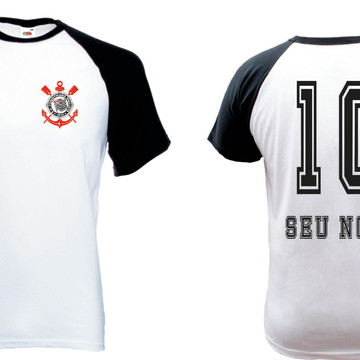 Camiseta Raglan Manga Curta Timao