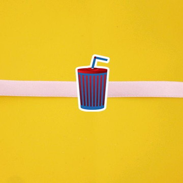 Fita com tag - cinema - hollywood - refrigerante