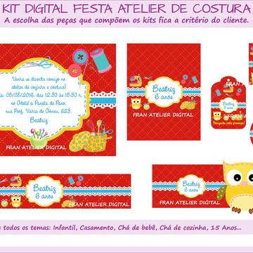 Kit Digital Festa Atelier de Costura