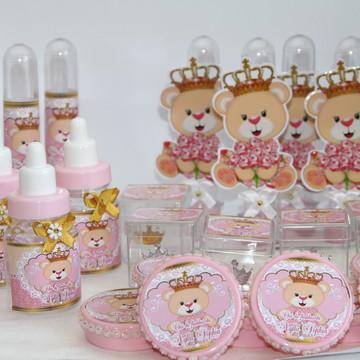 Kit personalizadosChá de Bebê Ursinha