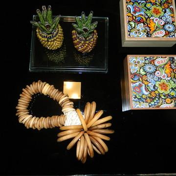 colar decorativos mesa