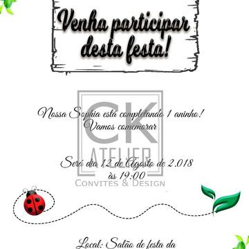 Convite digital Jardim Secreto