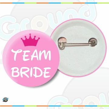 Botton Team Bride Boton Casamento