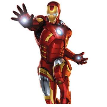 Kit festa 95 peças - 3D Homem de ferro