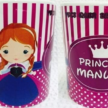 Caneca Personalizada para Aniversário Frozen