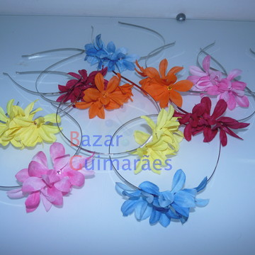 Kit Tiara Floral (S)- 5 cores