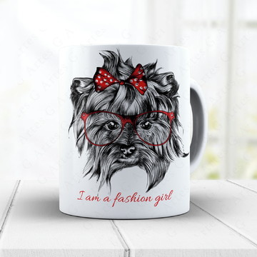 Caneca Yorkshire Fashion cód: 1573g