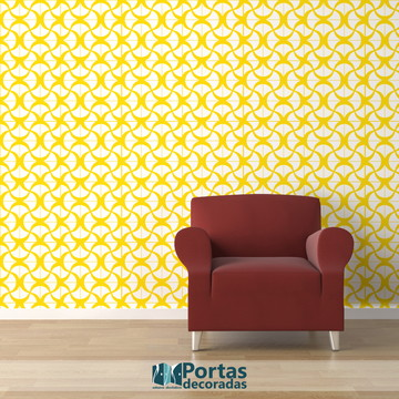 Adesivo para Azulejo – Ladrilho Amarelo