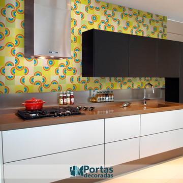 Papel de Parede – Cozinha Ornamento