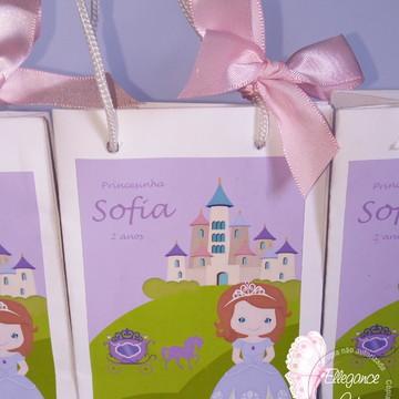 Sacolinha Princesinha Sofia - Mini