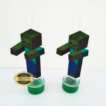 Apliques para tubetes Minecraft