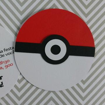 Pokemon - Convite
