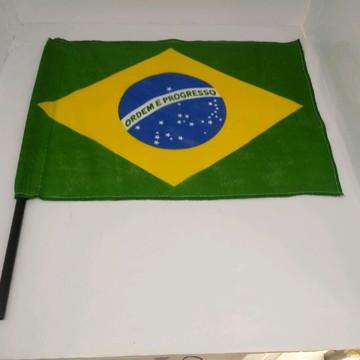Banderinhas Brasil Copa do Mundo Torcedor