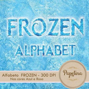 Kit Digital Alfabeto Frozen